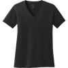 Picture of Women's Port and Co. 100% Cotton V-Neck T-Shirt